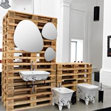 Decorated Washbasins