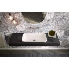 Rectangular Drop in Washbasin Thin Rim Giò Evolution