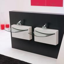 Washbasin Crystall Wall