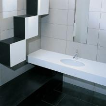 Under countertop Washbasin cm 57x40 Diana