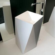 Washbasin cm 50x50xH85 Sharp