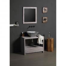 Oval Countertop/Wall-hung Washbasin Terra Lime