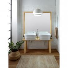 Wooden furniture for washbasin Tinozza cm 121x193 Tela