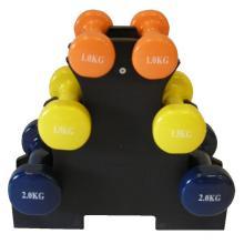 Weight-holder with vinyl weights