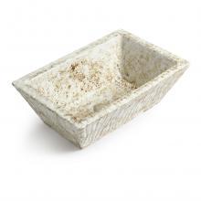 Rectangular Countertop/Wall-hung Washbasin Pietra Marmoreal Effect
