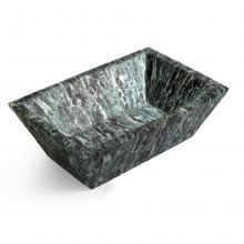 Rectangular Countertop/Wall-hung Washbasin Pietra Alps Green
