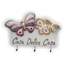 Hanger Casa dolce casa Butterflies