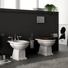 Wc + Bidet Back to Wall Ellade