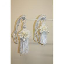 Curtain tie-backs