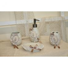 Bathroom Set 4 Pieces Romantic