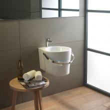 Wall-hung/countertop washbasin cm 40 Bucket