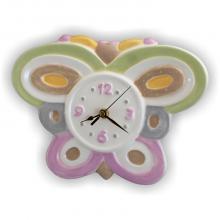 Clock Butterfly 28 x 22