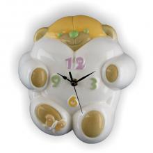 Clock Bear 22x24 cm