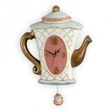 Pendulum Clock Teapot High Copper