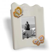Middle Photo Frame Scalloped