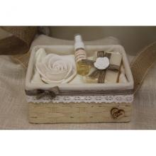 Hamper with Soap, Rose and Perfumer Passion
