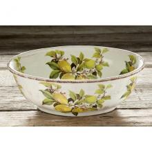 Oval Salad Bowl Limoni