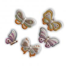 Butterflies 5 pieces