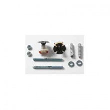 Fitting System Kit for Wall-hung Washbasins