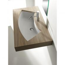 Under Countertop Washbasin cm 85x42 Aral