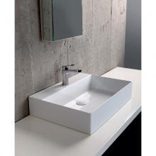 Wall-hung/Countertop Washbasin cm 60  Elegance Squared