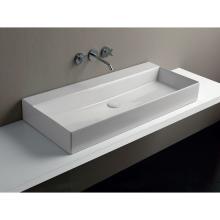Wall-hung/Countertop Washbasin cm 102  Elegance Squared