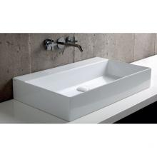 Wall-hung/Countertop Washbasin cm 75  Elegance Squared