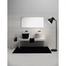 Round Countertop/Wall-hung Washbasin Bacile White