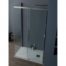 Corner shower cabin cm 155x200 with sliding door 8PSC15