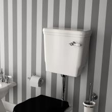 Low Level Ceramic Cistern with Lid Ellade