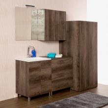 Floor bathroom/laundry composition cm 200 Unika
