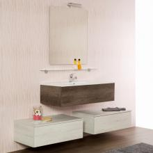Wall-hung Bathroom Composition cm 170 Unika