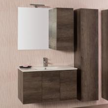 Wall-hung Bathroom Composition Unika cm 135