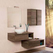 Wall-hung Bathroom Composition cm 160 Unika