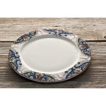 Scalloped Side Plate Deruta