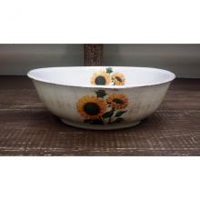 Oval Salad Bowl Girasoli