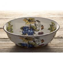 Oval Salad Bowl Frutta Antica