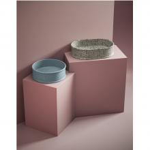 Oval Countertop Washbasin 60x40 cm Atelier Marmi & Graniglie