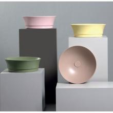 Round countertop washbasin cm 42 Idea Tondo