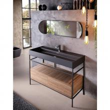 Countertop/Wall-hung washbasin cm 46x101 Faster Kiub