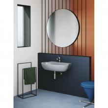 Wall-hung washbasin cm 80 Comoda