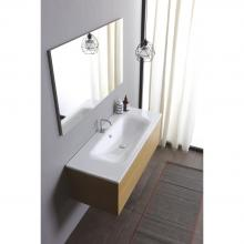 Recessed washbasin 106x51x h 16,8 cm Soft
