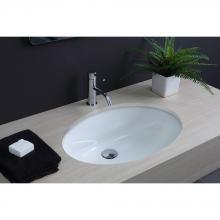 Under Countertop Washbasin cm 56.5x40.5 Ovale