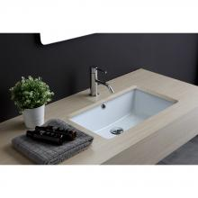Under Countertop Washbasin cm 56.5x36 Rettangolare