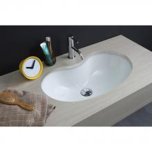 Under Countertop Washbasin cm 59x37 Sagomato