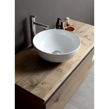 Countertop round washbasin cm 40 Sky