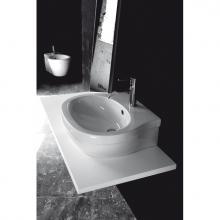 Countertop/Wall-hung Washbasin 1 hole X.One