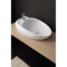 Countertop washbasin Moai 71R