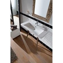 Countertop or wall-hung washbasin Butterfly