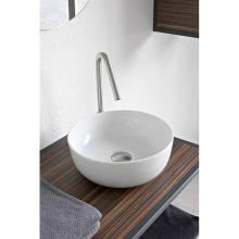 Round countertop washbasin Glam